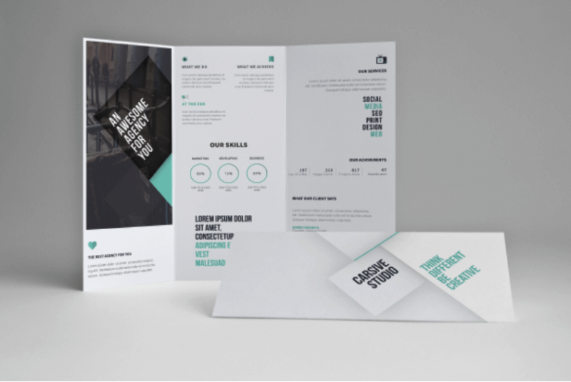Free Creative Trifold Brochure