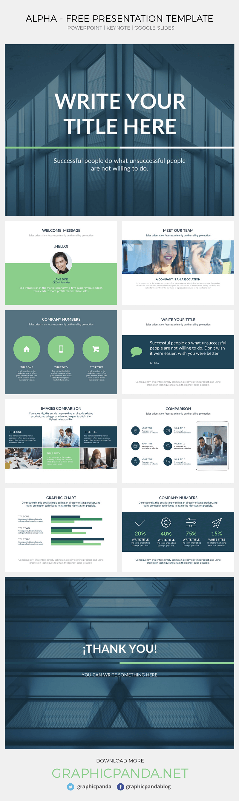 ALPHA-Free Presentation Template