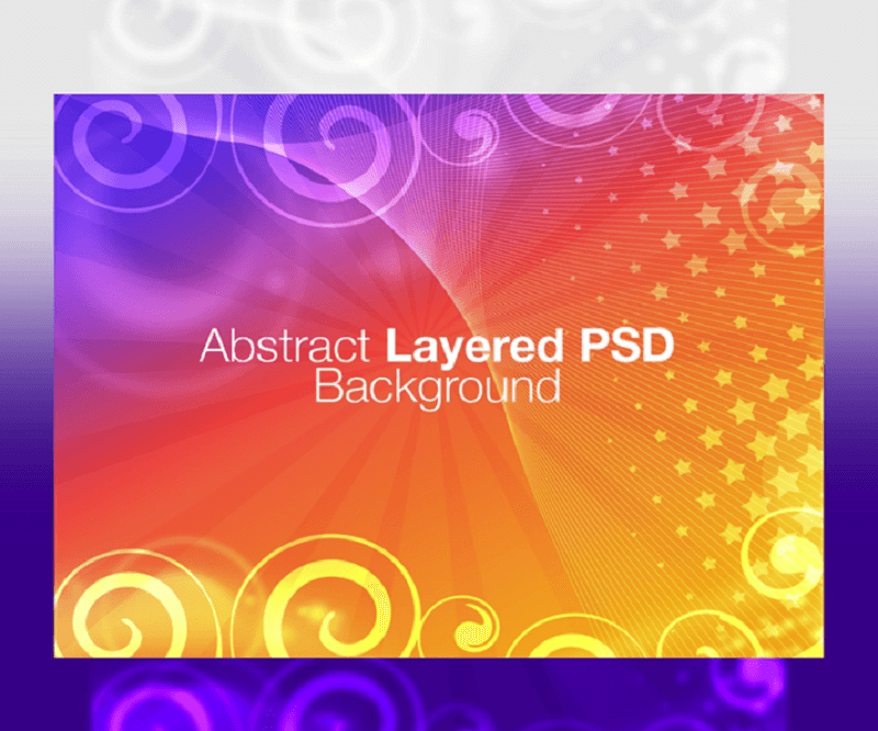 Free Abstract Layered PSD Background