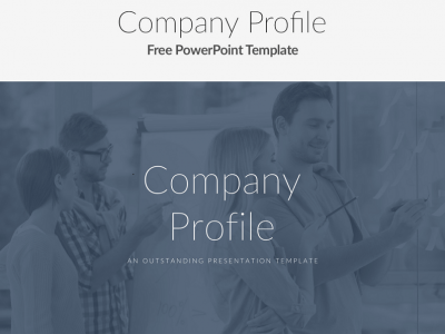Free Company Profile PowerPoint Template