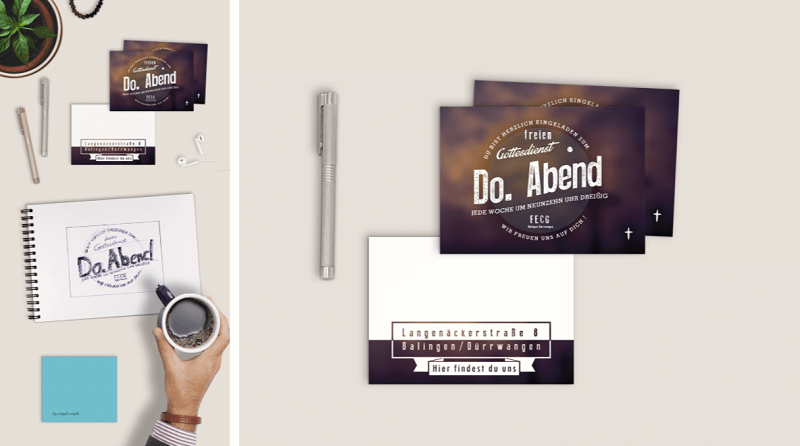 Free Invitation-Card/ Flyer Mockup