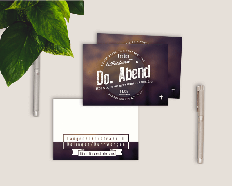 Free Invitation Card Flyer Mockup PSD