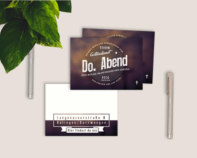 Free Invitation Card Flyer Mockup PSD
