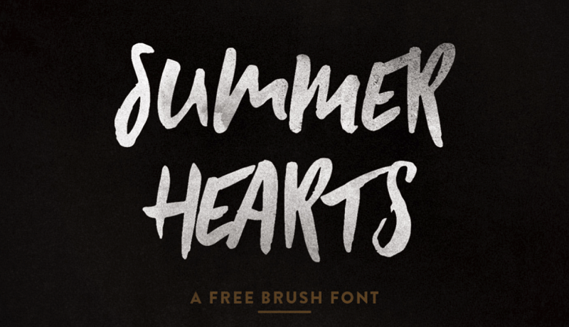 Summer Hearts Free Font