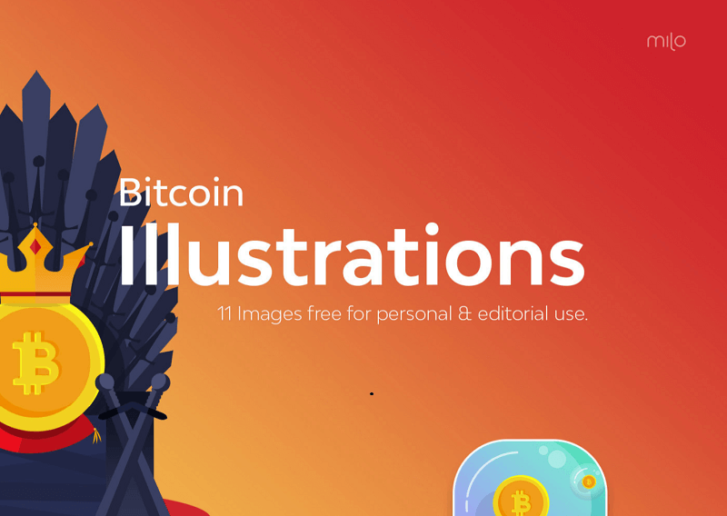 Bitcoin Illustrations Freebies