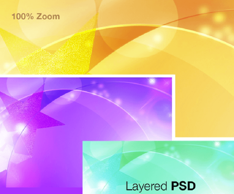 Free Abstract Soft Background PSD
