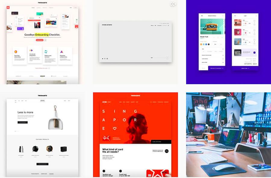 Web Design Creativity Using Instagram
