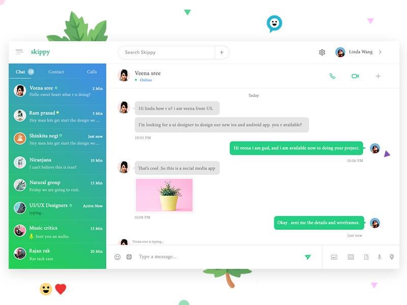 Skippy Desktop Messenger